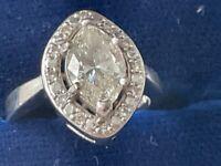 Diamond Marquise Ring 1.59 ct.