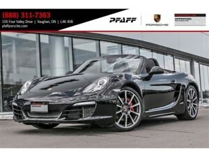 2015 Porsche Boxster S PDK - 4.99% LEASE RATE!!