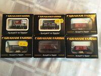 Graham Farish 3514/2117/377-151/377-075Y/373-701A/377-075Y Freight wagons (6 Units) (N-Gauge)