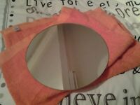 Mirror plate table centrepiece x 7