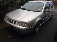 2003 VW GOLF SPARES OR REPAIRS