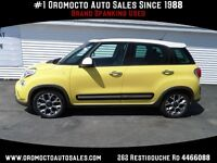 2014 Fiat 500L Yellow, Heated seats,Moonroof