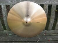 "Cymbals - Vintage Paiste 404 18"" Crash Cymbal"