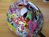 Moshi Monsters Kids Cycling Helmet **USED ONCE** Size: Medium