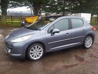 Peugeot 207 gthdi in excellent condition