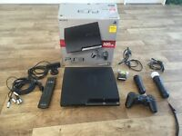 Sony PlayStation 3 with PlayStation Move & DVD/Bluray Remote