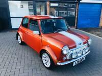 1998 CLASSIC MINI COOPER AUTOMATIC 1.3 IN VOLCANO ORANGE- 1 OF 400 MADE!! SIMPLY STUNNING