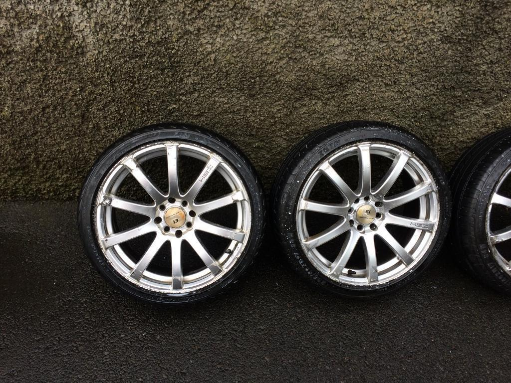 """17"""" Alloys Multifit, 205-40-17 tyres"""