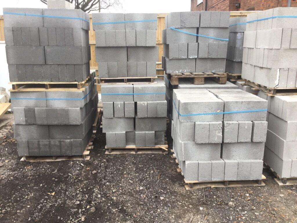 Concrete Blocks Solid 140mm 48 Blocks Per Pallet Trench