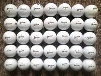 35 Srixon golf balls in excellent condition, soft feel, ad333, distance