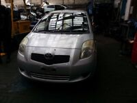 TOYOTA YARIS 3DR SILVER 1.0 PETROL 2007 BREAKING FOR SPARES X1 WHEEL NUT