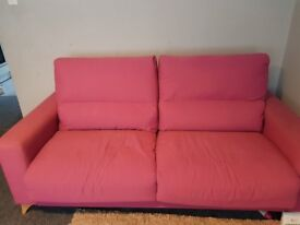 Stylish sofa bed in good condition