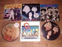 "20 x bananarama vinyls 12"" / promo's / picture discs"