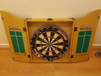 Dart Board and Cabinet - £20