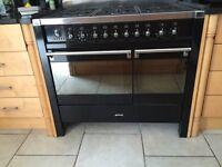 Smegg dual fuel range cooker