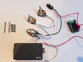 EMG 81 guitar pickup - solderless version