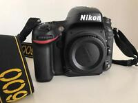 Camera Nikon D600 with the warranty!