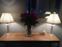 Two Laura Ashley lamps for sale