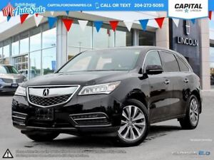 2016 Acura MDX AWD **Remote Start-Navigation-Moonroof**