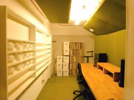 Music Studio, sound proofed, Netil House, Hackney, Shoreditch, East London E8