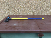 Maul axe, BlueSpot 6lb, Fibreglass handle.