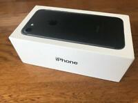 iPhone 7 32gb Black EE Virgin Asda BT Mobile Fantastic Condition in Box with New Charging Lead