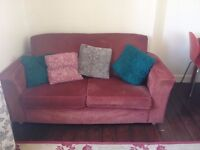 Red cord Sofa