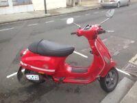 Piaggio Vespa S 50cc Red 2008