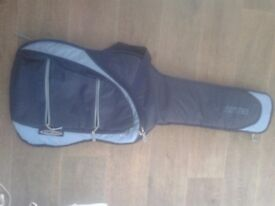 BASS GUITAR SOFT CASE BAG IN DARK BLUE- NEW, WOULD SUIT LARGE BODY/SEMI ACOUSTIC