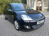 2006 '56' Ford Fiesta 1.4 Ghia New Mot 90k Full Leather Top spec