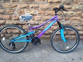 Brand New Falcon Siren Girls 24G Mountain Bike RRP £295