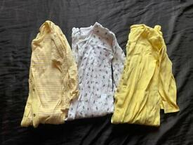 Baby grows x3 12-18 months