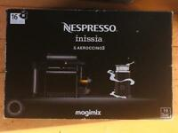 BRAND NEW - Nespresso Machine with 16 Coffee Pods