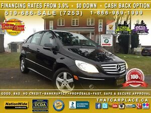 2008 Mercedes-Benz B-Class B200-Sunroof-Tilt-Cruise-AUX/CD