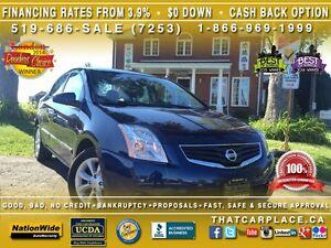 2012 Nissan Sentra 2.0S-$53/Wk-Cruise-AUX/CD/Mp3-SteelWheels-Cru