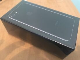 NEW iPhone 7 256GB Jet Black Purchase Proofs Apple Warranty EE network Brand New Unused 256