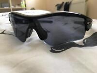 Oakley rider sunglasses black
