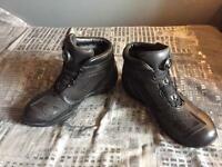 NEW but opened motorcycle boots Size 9