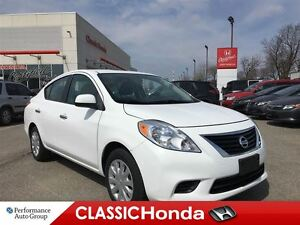 2012 Nissan Versa 1.6 SV | ONE OWNER | | ONLY 47, 370KMS |