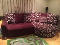Sofa in good condition from smoke free house for sale