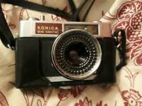 Konica ee matic deluxe vintage camera