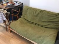 FUTON/PULL OUT SOFA BED BEING SOLD IN NEWINGTON GREEN AREA