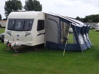 Caravan 6 berth twin axle caravan Bailey Olympus