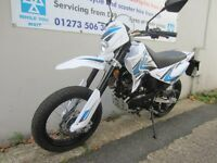 2016 plate sinnis apache 125cc CHEAP