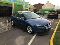 Focus tdci 1.6 zetec climate, mot, cheap tax, low mileage...spares or repair starts and drives