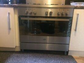 NECHT Gas cooker/duel fuel 90cm range oven