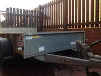 8X5 Ifor Williams GD95G Trailer