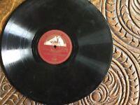 Three Vintage Vinyl 78 records of Peter Pan