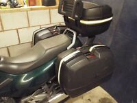 GIVI MOTORCYCLE PANNIERS AND TOP BOX