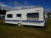 Hobby prestigue 2006 (sitted on antshill caravan park laugharne st claires)